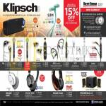 Klipsch Earphones S3M, KMC3 Bluetooth Wireless Speakers, S4, S4i, A5i, X7i, X10i, Headphones Image One, Mode M40, Promedia 2.1
