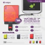 Moigus Portable Chargers Juice 4100, 6100, 8100