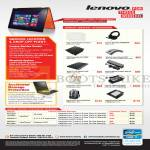 Accessories Ideapad Laser Mouse, AC Adapter, Removable HDD, Backpack, Fan, Service Centre