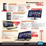 Desktop PCs, AIO Desktop PCs, H520s, K450, C340, C540, B540