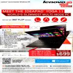 Lenovo Notebook Ideapad Yoga 11