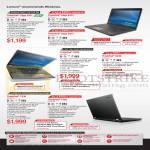 Notebooks Thinkpad Edge E431, X230, T430