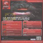 Notebooks 12 Reasons To Buy MSI Gaming Machines, Performance, Vision, Sound