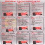 Notebooks GT70, GT70-0ND, GT60-0NE, GT60-0ND, GE70-0ND, GE60-0ND, GE60-0ND437, GE60-0NC