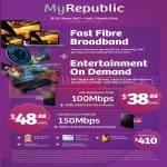 Fibre Broadband Pure 100Mbps, Teleport, Free ASUS N56U Router, Fixed Line, 30 Minutes IDD Calls