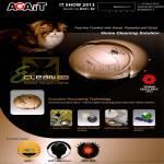 Navicom Agait E-Clean Robotic Vacuum Cleaner EC02 Feature