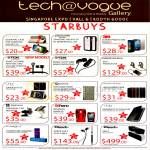 Newstead Tech Vogue Accessories Earphones, Cases, TDK, Plantronics, Exogear, Klipsch, Uniq, 3M, Gissar, Zenus, Mipow
