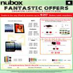 Nubox Apple IPad, Apple IPad Mini, Apple IPod Touch, Apple IPod Nano, Apple IPod Shuffle