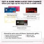 Credit Cards Sure Win Lucky Dip Titanium Card, Cashflo Card, Frank