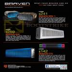 (B6011) Braven Wireless Speakers BRV-1, 650, 570, Ban Leong