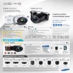 Digital Cameras NX1000, NX210, NX300, NX Lenses