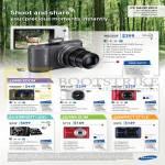 Digital Cameras WB250F, WB800F, WB150F, AB30F, EX2F, St72, Es95
