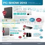 External Storage Slim, Wireless Plus, Backup Plus 1TB, 2TB, 3TB, 4TB