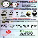 Sennheiser Headphones Momentum, Jays A-Jays One, Two, Three, Four