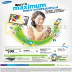 Starhub Broadband Cable 100Mbps 98.00 Free Samsung HomeSync With Galaxy Home Pack, Galaxy S4, Fixed Line, Gateway, Mobile Broadband