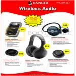 Systems Tech Ranger Wireless Audio Bluetooth Solar Car Kit, Headset S380 S300, Audio Transeiver, Speaker 4.0 Kit 211