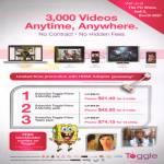 3000 Videos Anytime, Anywhere, Prime Packs