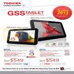 Tablets Regza AT270-10003G, AT300-10013G