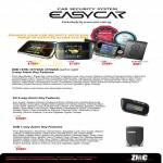 Easycar Alarm System Features E8B, E7B, E772AS, E702AS, E4, E3B