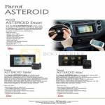 Parrot Asteroid Smart, Asteroid Tablet, Mini