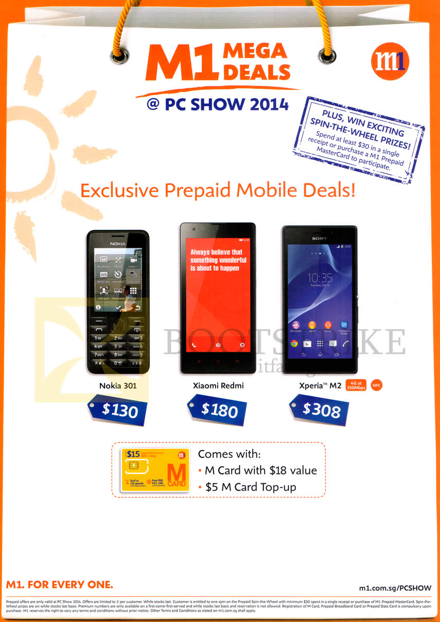 sony xperia price list 2014. pc show 2014 price list image brochure of m1 mobile prepaid nokia 301, xiaomi redmi. « sony xperia t