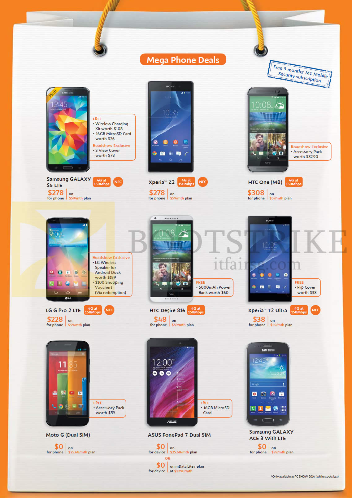sony xperia price list. pc show 2014 price list image brochure of m1 samsung galaxy s5 ace 3, sony. « sony xperia