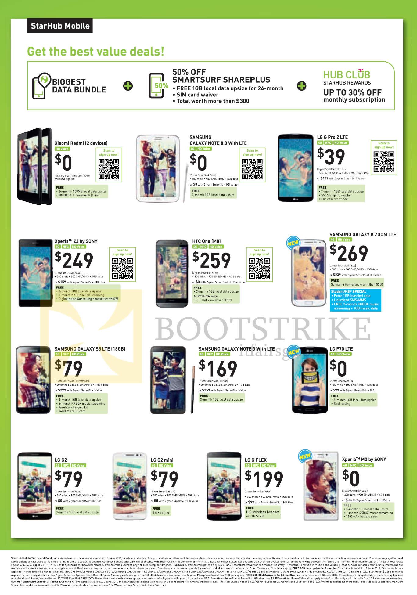 Starhub Mobile Xiaomi Redmi Samsung Galaxy Note 8 0 K