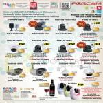 Foscam IP Cameras FI8909W, FI8918W, FI8910W, FI9821W, FI9851W, FI9831W, FI9831P, FI9826P, FI8904W, FI8906W, FI8918, FI8620