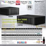 Synology NAS DiskStations DS1513, DS1813, DS2413, RS214, RS814, DX213, VS80, VS240HD, DX513
