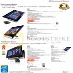 AIO Desktop PCs, ET2301INTH-B010K, ET2221INTH-B006K, P1801-B075K, P1801-T-B015M, P1801-B184K