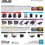 Awards Motherboard, Graphic Cards, Wireless Networking