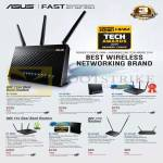 Networking Routers, RT-AC68U, AC56U, AC66U, N66U, N56U, N12HP, N12-D1