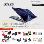Notebook, Accessories, Zenbook UX302, Fonepad 7, Nexus 7, Transformer Book Trio TX201, X550DP, Padfone Infinity