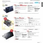 Notebooks Zenbook, K Series UX301LA-DE002H, UX302LG-C4002H, UX32LA-R3014H, K451LN-WX005H WX107H XX021H