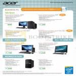 Desktop PCs, AIOs, Veriton M2631, X4630G, L4630G, Z2260G, Veriton P130 F3, P330 F2