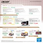Desktop PCs, Monitors Aspire XC-605, G3605, H226HQL, G276HL, T232HL