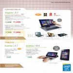 Notebooks, Tablets, Aspire R7-572G-54208G1Ta, 7450161Ta, Iconia A1-830, W4-820