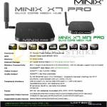 Minix X7 Pro Media Hub Android, Mini, Player