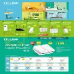 TP-Link Networking Powerline AV500, AV600 Gigabit