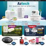 Specials Wireless N Repeater, HomePlug, IP Camera IPCam, Vacuum Cleaner, Juicer, Roll Maker, WL580E, HL119EP, WIPC408HD
