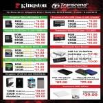 Flash Memory Cards Kingston, Transcend, MicroSD Class 4, 10 UHS1, Wi-Drive, MobileLite, Hard Disk, DVD Writer