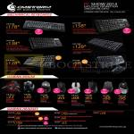 Cooler Master CMStorm Mechanical Keyboards, Gaming Mouse, Headsets, QuickFire Devastator Reaper Havoc Sonus Sirus Pulse Ceres