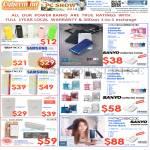 Power Banks Samsung, Fujitsu, Probox, Sanyo