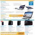 Desktop PCs, AIO Desktop PCs, Inspiron 23, 3000, XPS 27, 8700, Alienware X51, Aurora R4