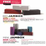 Jawbone Big Jambox, Mini Jambox