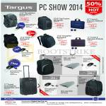 Targus Backpacks Revolution, Backpack, Crave II, Incognito, Pulse II, Travel Overnighter