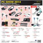 EpiCentre Bose Headphones, Headset, Speakers, Digital Music System AE2W, IE2, MIE2, SoundDock Series III, Companion 5, Soundlink