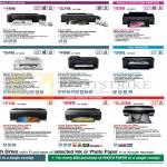 Printers Inkjet L300, L800, Stylus Photo T60, R2000, R3000, Stylus Pro 3885, Workforce WF-3521, 7511, 7011