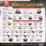 Funz Centre Accessories, Astro, Gioteck Headsets, A40, A30, A50, AX1, PS4 EX3-R, 05S, HS-1, MH-1, XC-3, EX-01, 02s, 03, GC-2, PS3-XC1, VX2, SC-1, XC-3, EXO5s, XC-4 HQ