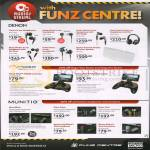Funz Centre Denon, Moga, Munito, Headphones, Earphones, Power Controller, Headsets, AHC-260, 100, 250, 340, 400, 300, MC200, Nines